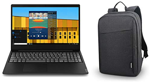 Lenovo Ideapad S145 8th Gen Intel Core I5 15.6 inch FHD Thin and Light Laptop (8 GB RAM/ 1 TB HDD/ Windows 10/ Glossy Black / 1.85 Kg) & B210 Bag Combo