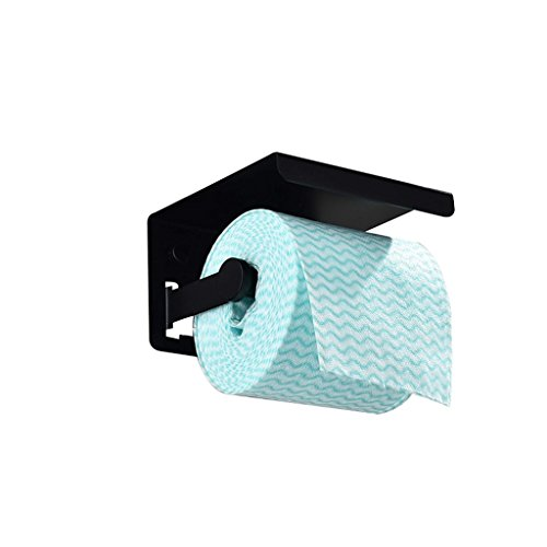 YAeele Caja del Tejido de baño de Acero Inoxidable Resistente al Agua Soporte for Rollo de Papel higiénico Titular