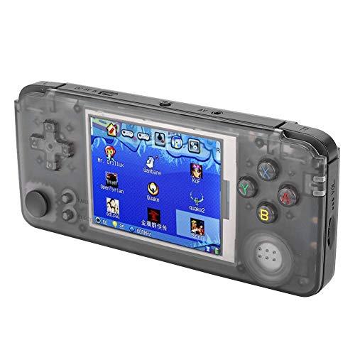 Socobeta Kratzfeste 3,5-mm-Kopfhörerbuchse Tragbare Spielekonsole Joystick-Controller Super Tempered Glass 32G-Speicherkarte für die Spielekonsole