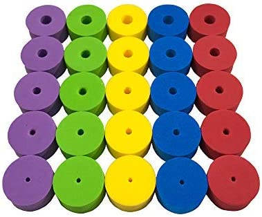 Colorful Stitch Stoppers Needles Stoppers 50pcs for Knitting Crochet etc Available in 5 Sizes product image