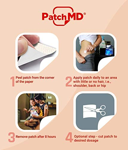 PatchMD - B12 Energy Plus Topical Patch, 30 Patches