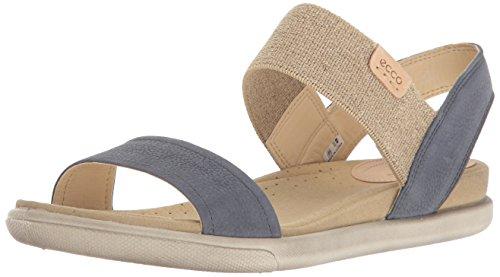 ECCO Women's Damara Ankle Gladiator Sandal, Ombre/Powder, 7-7. 5