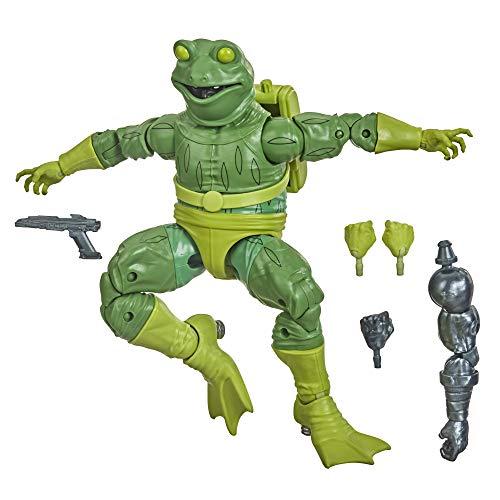 Hasbro Marvel Legends Series Spider-Man - Figura Coleccionable de Frog-Man de 15 cm - para niños de 4 años en adelante