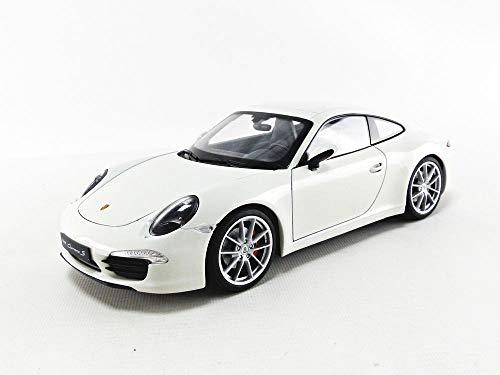Welly - 18047w - Porsche - 911/991 Carrera S - 1/18 Scala