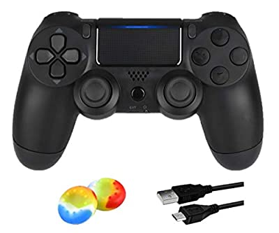 Wireless Controller for PS4 Remote for DualShock 4, Game Control Compatible for Playstation 4, Berry Blue