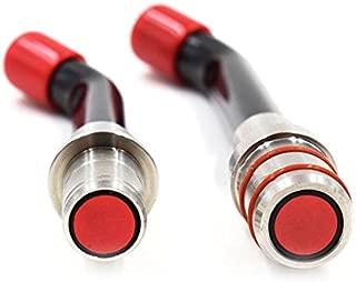 12mm Optical Fiber LED Curing Light Lamp Guide Rod Glasses Tips (2Pcs) US STOCK (2PCS)