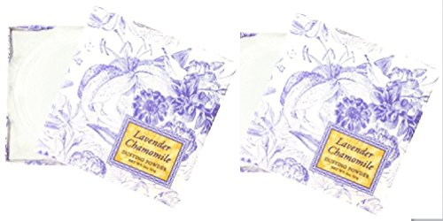 Greenwich Bay Trading Co. Dusting Powder, 4 Ounce (Set of Two Lavender Chamomile)