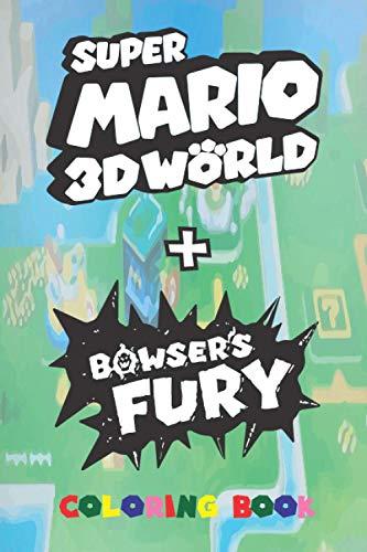Super Mario 3D World + Bowser's Fury: Coloring Book