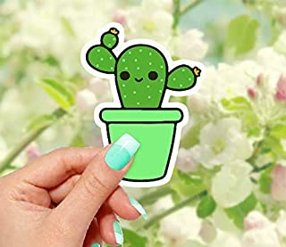 Cactus Vinyl Sticker - for Laptops, Water Bottles and Windows