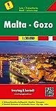 Malta - Gozo, Road Map 1:30,000 (AUTO + FREIZEIT) (English, Spanish, French, Italian and German Edition)