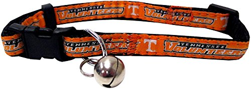 Pets First Collegiate Pet Accessories, Cat Collar, Tennessee Volunteers, One Size