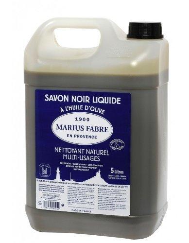 Marius Fabre 529 Sainte Famille Traditional Household Liquid Soap, Black, 5L