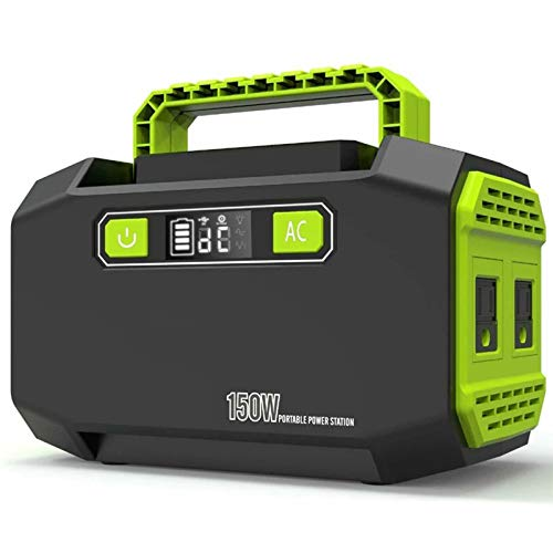 Tragbare Power Generator Notfall Backup Inverter Station Mit 220V Dual AC Outlets, 2 USB 3 DC Ports Außen Power