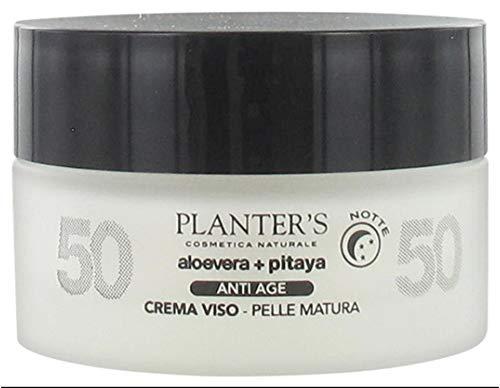 Planter's – Aloevera y Pitaya – Crema facial noche antiedad 50 ml