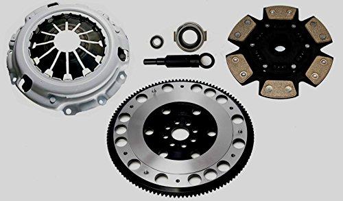 Racing Clutch Kit Complete Set & Flywheel For Honda Civic Type R EP3 FN2 K20 Integra DC5 K-Series Automotive Clutch Pressure Plates & Disc Sets - House Deals