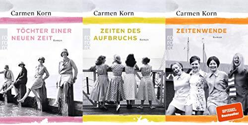 Carmen Korn Jahrhundert-Trilogie + 1 exklusives Postkartenset