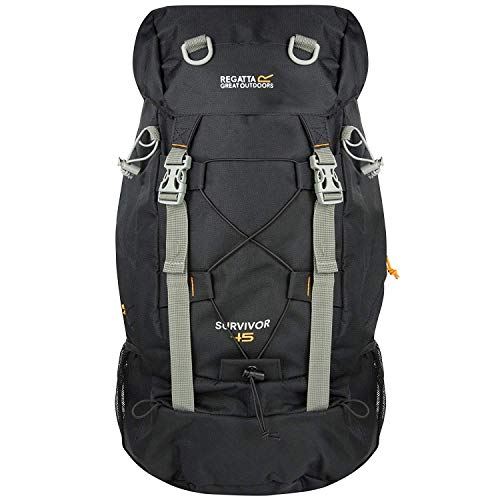 Regatta Great Outdoors - Mochila modelo Survivor III de 45 Litros (Talla Única) (Caqui oscuro)