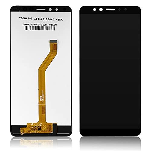 De Galen Accesorios Kits de 6 pulgadas para Lenovo K5 Pro pantalla LCD+táctil digitalizador Asamblea de reemplazo de la pantalla del teléfono (color: negro) reemplazo (color: negro)