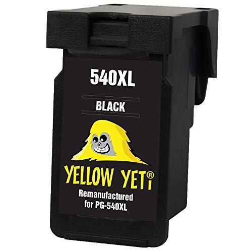 Yellow Yeti Ersatz für Canon PG-540XL PG-540 XL Druckerpatrone Schwarz kompatibel für Canon Pixma MG3250 MG3550 MG4250 MG3150 MX395 MX535 MG3650 MG2250 MG2150 MX525 MX475 MX435 MX375 MX455 MG4150