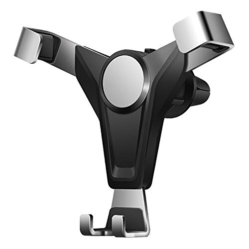 Soporte de teléfono para coche, con una sola mano, rotación de 360°, apto para iPhone 11pro Max/XS Max/8S Plus Galaxy S10/S9 Huawei y otros teléfonos de 4-6 pulgadas