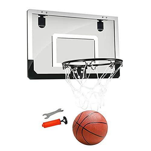 GAOword Schlagfrei Hängender Basketballkorb Korb Wandbehang Kinder Basketballkorb Baby Schießen Spielzeug Schlafsaal Indoor Home