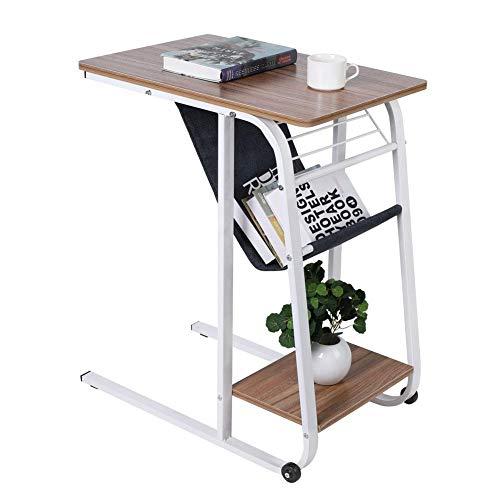 GYF Mesa auxiliar de sofá para computadora portátil escritorio portátil escritorio de escritura para estudio dormitorio hogar oficina escritorio