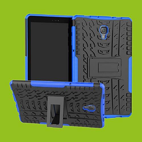 Hybrid Case für Huawei Tablet Tasche Hülle Etui Outdoor Schutzhülle Cover Neu Top, Farbe:Blau, Tablet-Modelle:MediaPad M5 Lite 10.1 Zoll