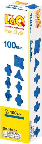 ラキュー (LaQ) フリースタイル 100 ブルー