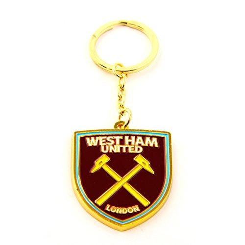 OFFICIAL WEST HAM UNITED FC new crest design keyring