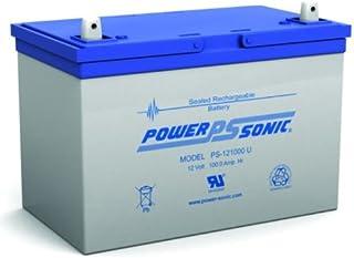 Powersonic PS-121000U 12 Volt, 100 AH Rechargeable Lead Acid Battery
