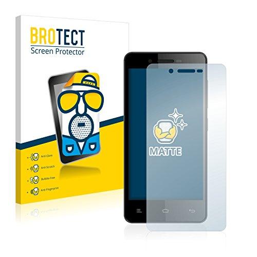 BROTECT 2X Entspiegelungs-Schutzfolie kompatibel mit Gionee V183 Bildschirmschutz-Folie Matt, Anti-Reflex, Anti-Fingerprint