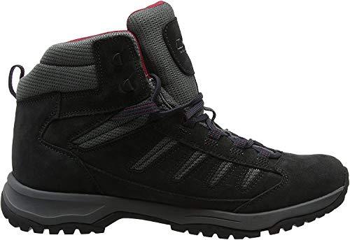 Berghaus Expeditor Trek 2.0 Walking Boots, Chaussures de Randonnée Hautes Homme Noir (Noir/Red B59) 40.5