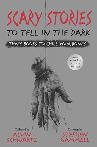 Compare Textbook Prices for Scary Stories to Tell in the Dark: Three Books to Chill Your Bones: All 3 Scary Stories Books with the Original Art Illustrated Edition ISBN 9780062968975 by Schwartz, Alvin,Gammell, Stephen