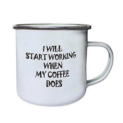 Comenzaré a trabajar el café Regalo...