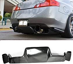 EPR for Nissan FRP Fiber Glass 03-08 Z33 350z Infiniti G35 Coupe 2D JDM TS Style Rear Bumper Diffuser Lip 6Pcs (with Fitting Kits)