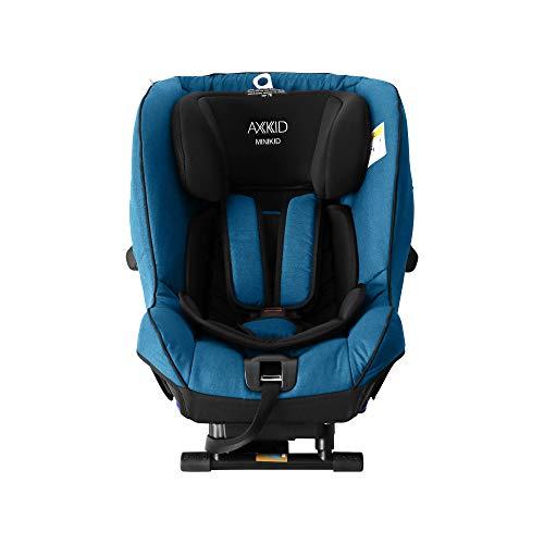 Axkid Kindersitz Autokindersitz 0-25 kg Isofix ab 0-6 Jahre mit ASIP Laterale Minikid 2.0 - Schwedische Sicherheitsstufe Petrol