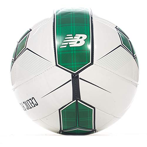 New Balance Celtic FC 2018/19 Dispatch Ball - Size 5 - White/Celtic Green - Size 5