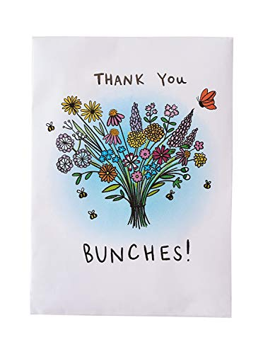 Pre-Filled Seed Packet ''Thank You Bunches'' Party Favors for Guests (Pack of 20) - Wildflower Seed Mix, Plant Year-Round, Great Gift for Hostesses, Showers, Weddings, Thank You