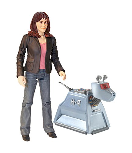 Underground Toys Doctor Who 5.0' Sarah Jane & K9 Action Figure Set (2 Pack)