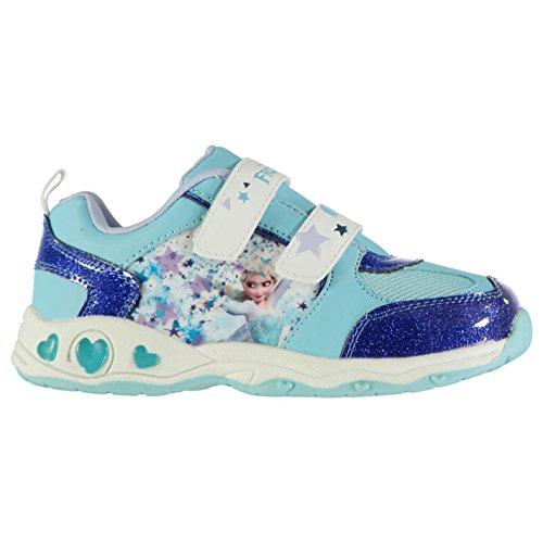Character Light Ups Kinder Leuchtend Turnschuhe Blink Sportschuhe Sneaker Disney Frozen 2 (34)