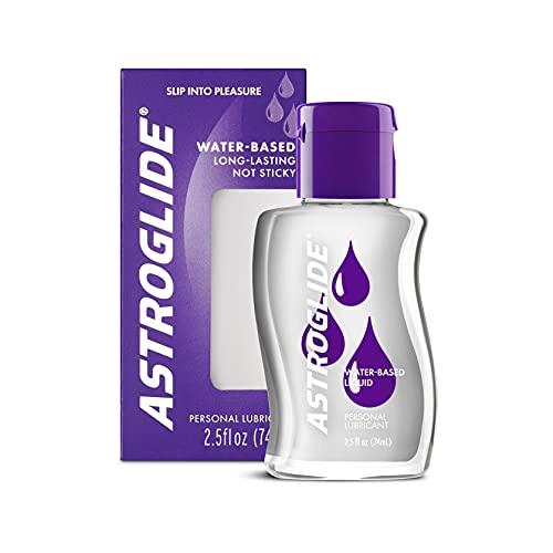 Astroglide lubricant - 2.5 oz bottle