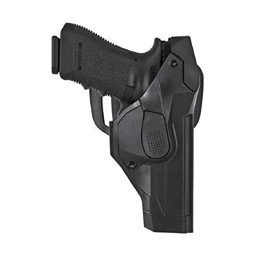 FONDINA PROFESSIONALE DA CINTURONE VEGA HOLSTER DCH804 CON SICURA LIV. 3 per Glock 17/22