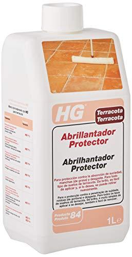 HG Abrillantador Protector 1L - Protege contra las manchas - Ayuda a mantener los suelos de terracota - fácil de aplicar