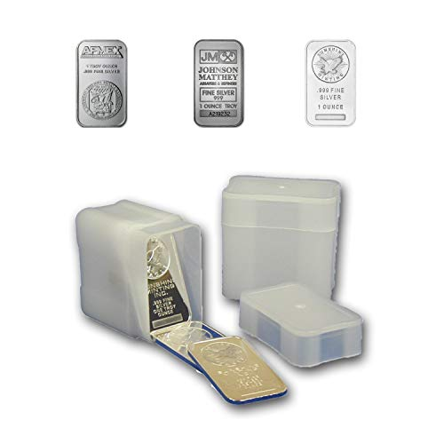 CoinSafe Silver Bar Tube for 20 1oz Silver Bars