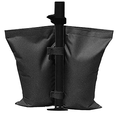 Alomejor Anchor Weights Bag Portable Canopy Weighted Sand Bag Durable Umbrella Base for Camping Tent Sun Shelter Sandbags Pop up Weighted Feet Bag