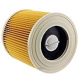 ADUCI Reemplazo 1pc Calidad del Aire filtros de Polvo empaqueta for Karcher Aspiradoras Piezas del Cartucho de Filtro HEPA WD2250 WD3.200 MV2 MV3 WD3