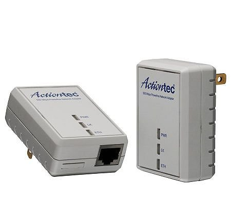 Actiontec Electronics PWR511K01 Powerline 500Mbps Adapter Kit