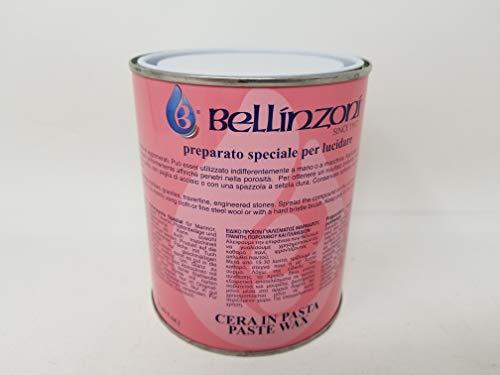 Bellinzoni Polishing Paste Wax 750ml - for Marble & Granite (Clear)