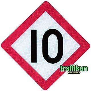鉄道シリーズ ミニチュア トラフィックン 標識板のみ ・停止目標10京葉型