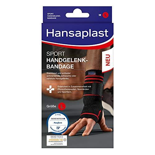 Hansaplast Sport Handgelenk-Bandage Größe L, 1 St. Bandage